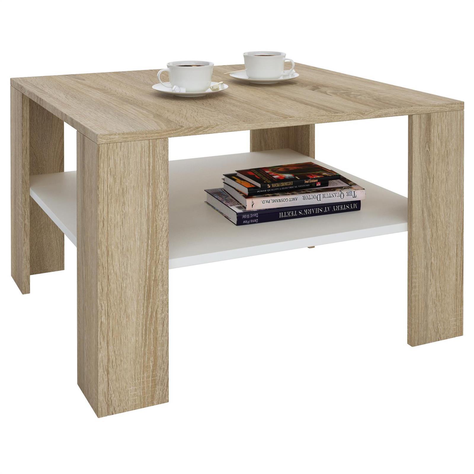 Table Basse Table De Salon Structure Mdf D Cor 2 Coloris  # Table De Salon En Mdf