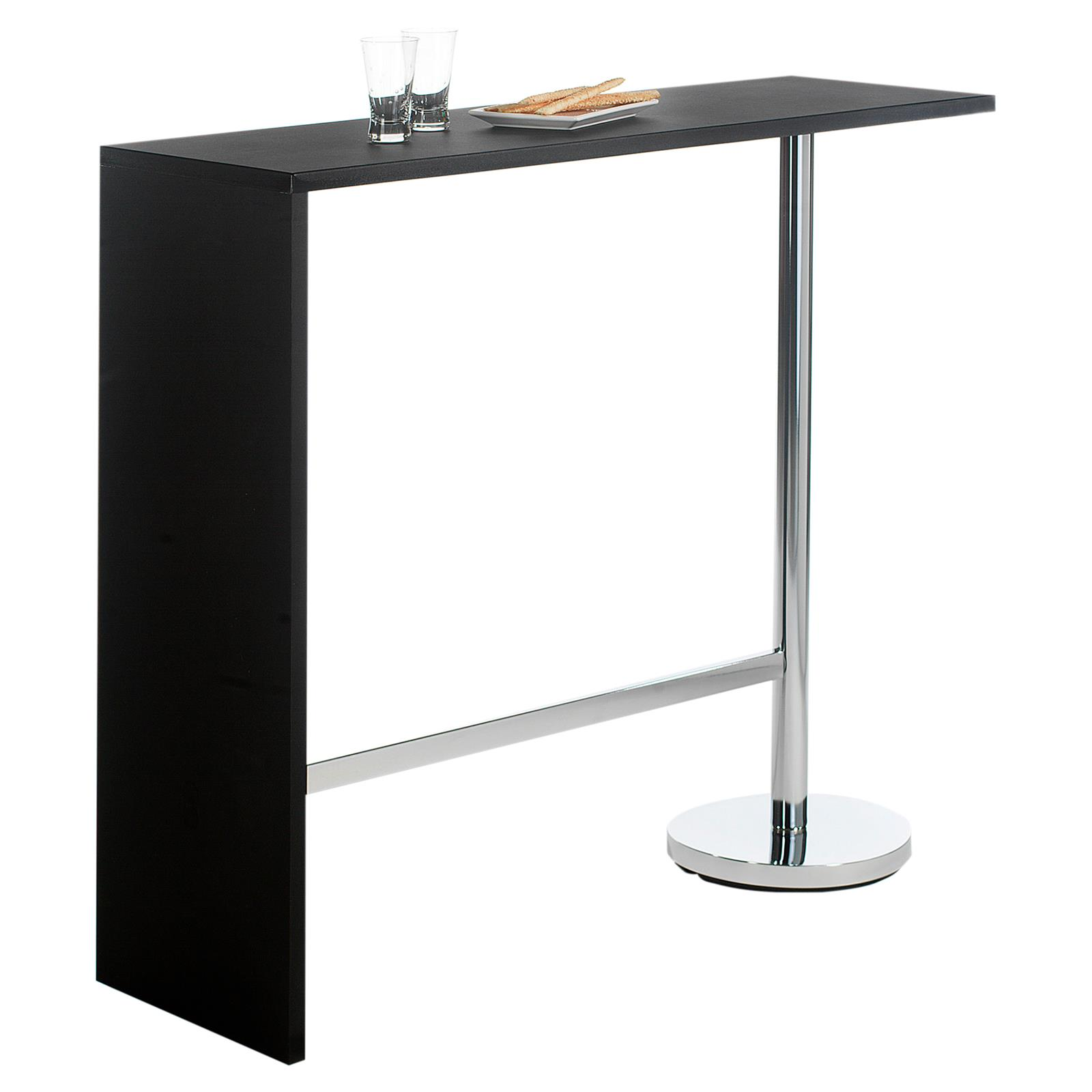 Table haute de bar mange debout MDF 3 coloris disponibles