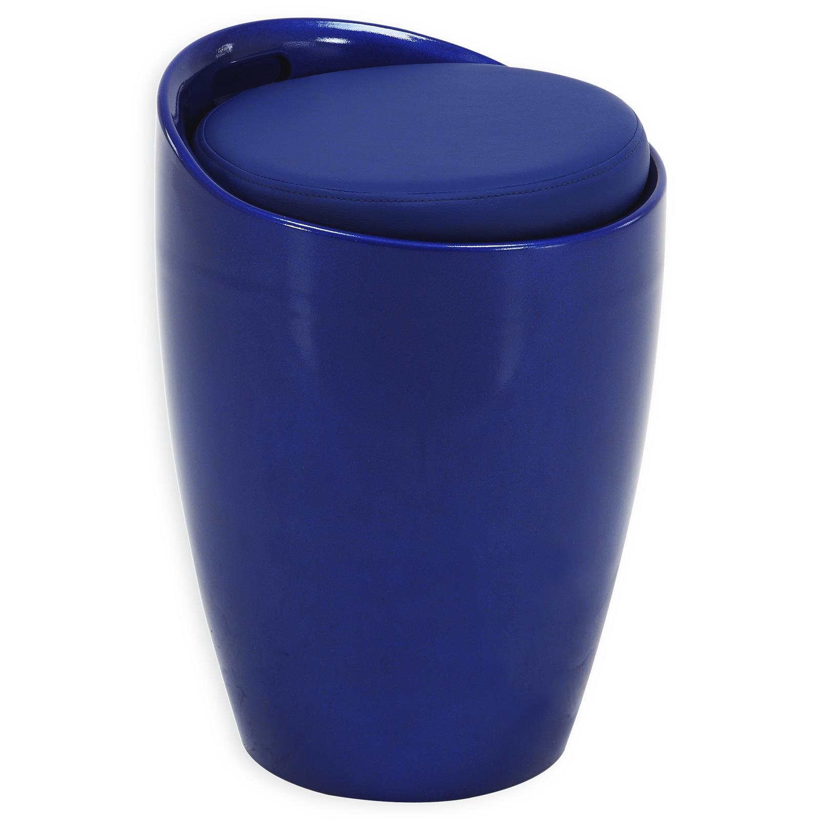 Tabouret coffre de rangement 9 coloris disponibles ebay - Tabouret coffre de rangement ...