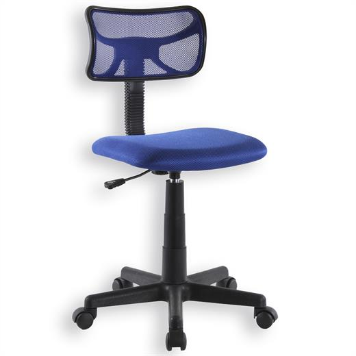 fauteuil chaise de bureau enfant hauteur r glable bleu ebay. Black Bedroom Furniture Sets. Home Design Ideas