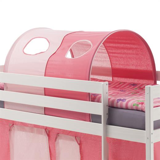 tunnel rose rose clair pour lit enfant sur lev mi hauteur ebay. Black Bedroom Furniture Sets. Home Design Ideas