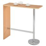 Table haute de bar RICARDO, couleur hêtre