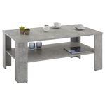 Table basse LORIENT, en mélaminé décor béton