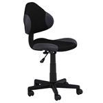 Chaise de bureau pour enfant ALONDRA, noir/gris