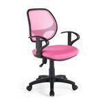 Chaise de bureau pour enfant COOL, rose