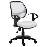 Chaise de bureau pour enfant COOL, blanc