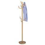 Porte-manteaux MILA, en métal laqué or