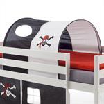 Tunnel MAX pour lit surélevé, motif pirate