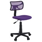 Chaise de bureau pour enfant MILAN, violet