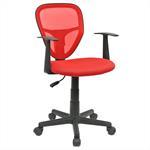 Chaise de bureau pour enfant STUDIO, rouge