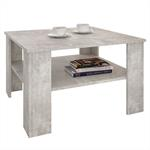 Table basse SEJOUR, en mélaminé décor béton