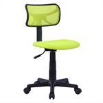 Chaise de bureau pour enfant MILAN, vert