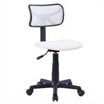 Chaise de bureau pour enfant MILAN, blanc