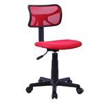 Chaise de bureau pour enfant MILAN, rouge