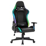 Chaise de bureau gamer SKILLS, revêtement synthétique avec LED