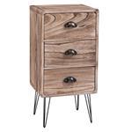 Table de chevet MALIA, 3 tiroirs