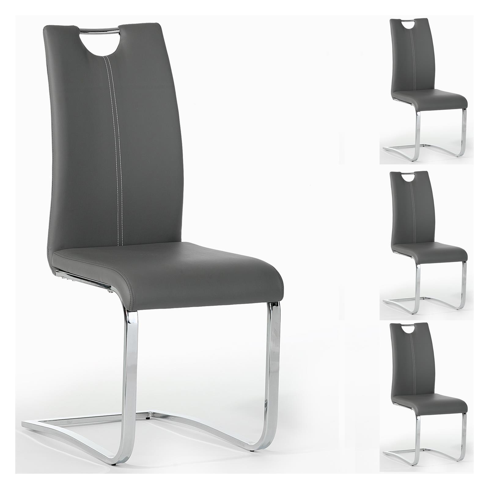 Lot-de-4-chaises-de-salle-a-manger-pietement-chrome-revetement-synthetique