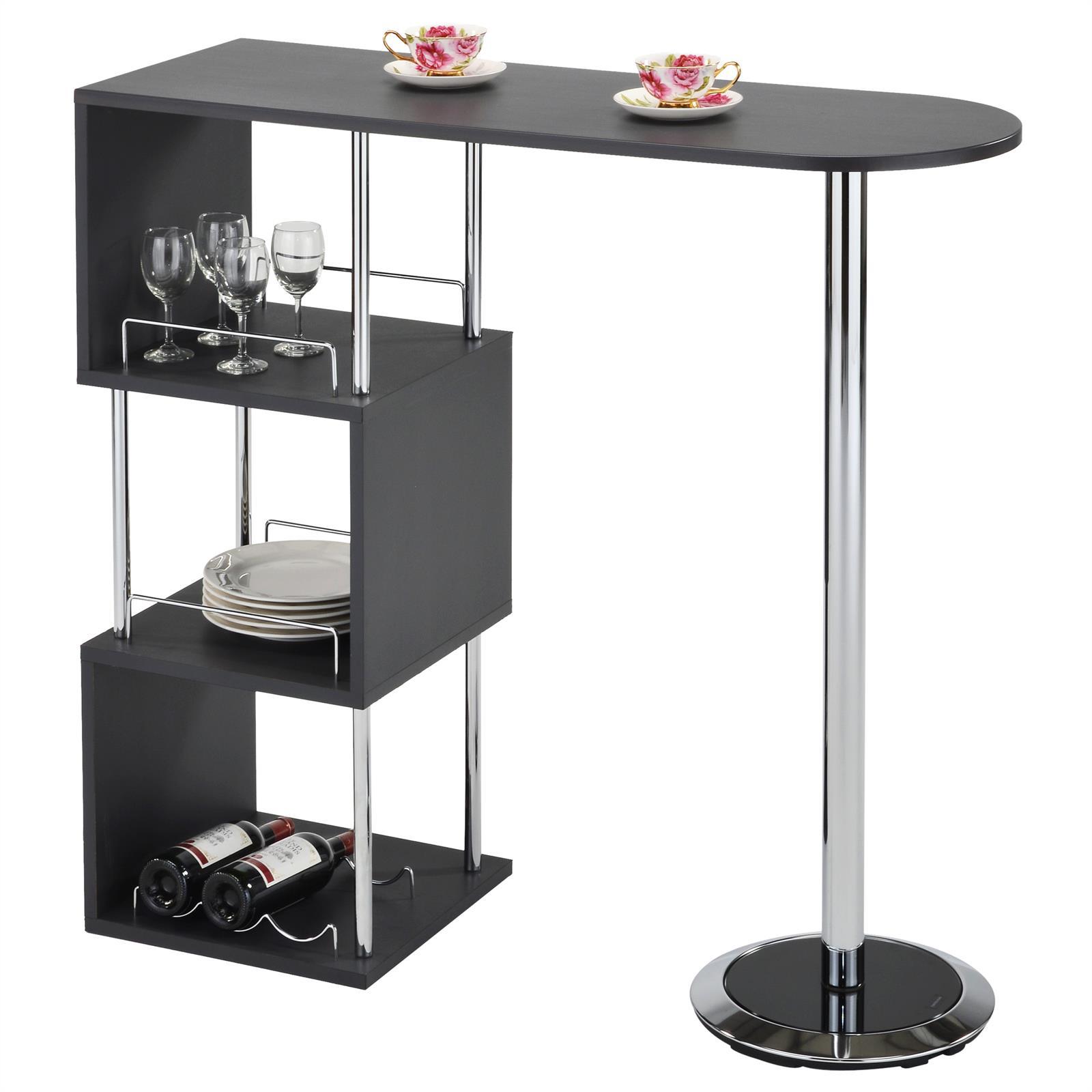 table haute de bar vigando gris mat mobil meubles. Black Bedroom Furniture Sets. Home Design Ideas