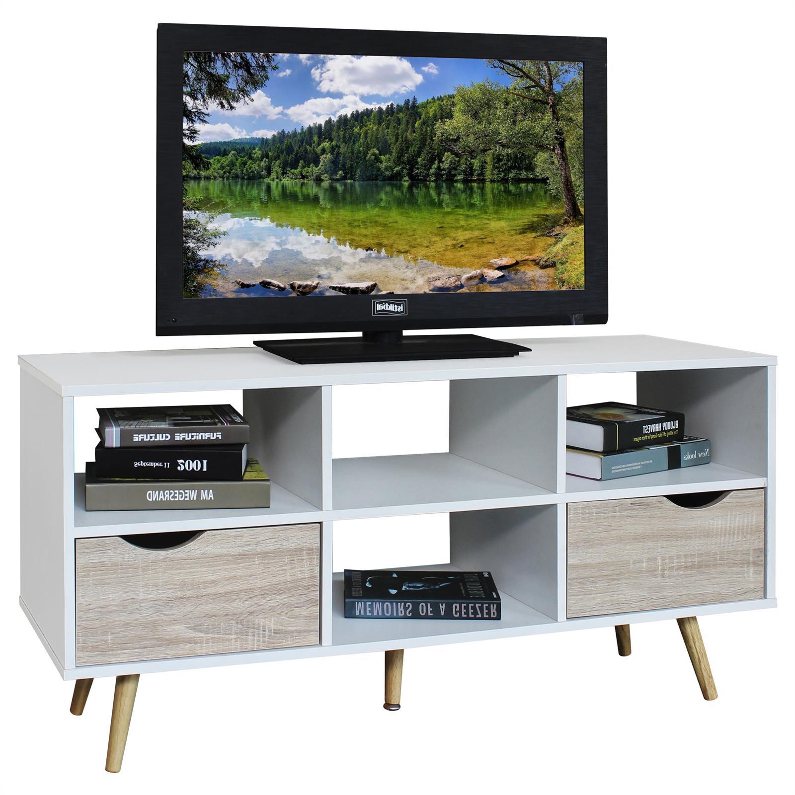 meuble tv nantes blanc et ch ne sonomaa mobil meubles. Black Bedroom Furniture Sets. Home Design Ideas