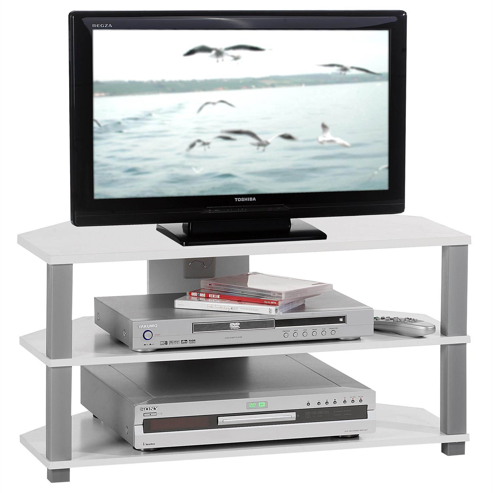 meuble tv jack blanc et gris mobil meubles. Black Bedroom Furniture Sets. Home Design Ideas