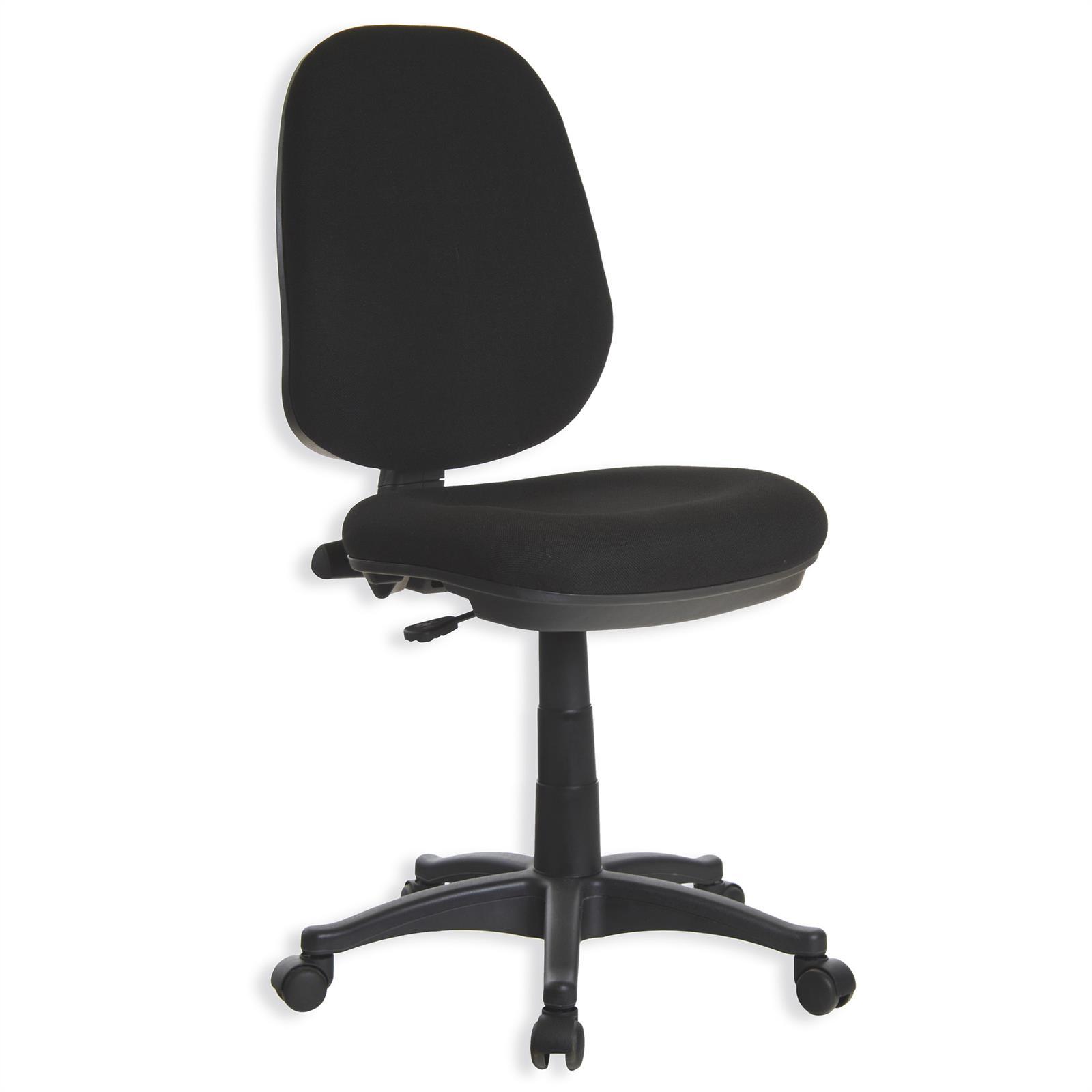 fauteuil de bureau edwin noir mobil meubles. Black Bedroom Furniture Sets. Home Design Ideas