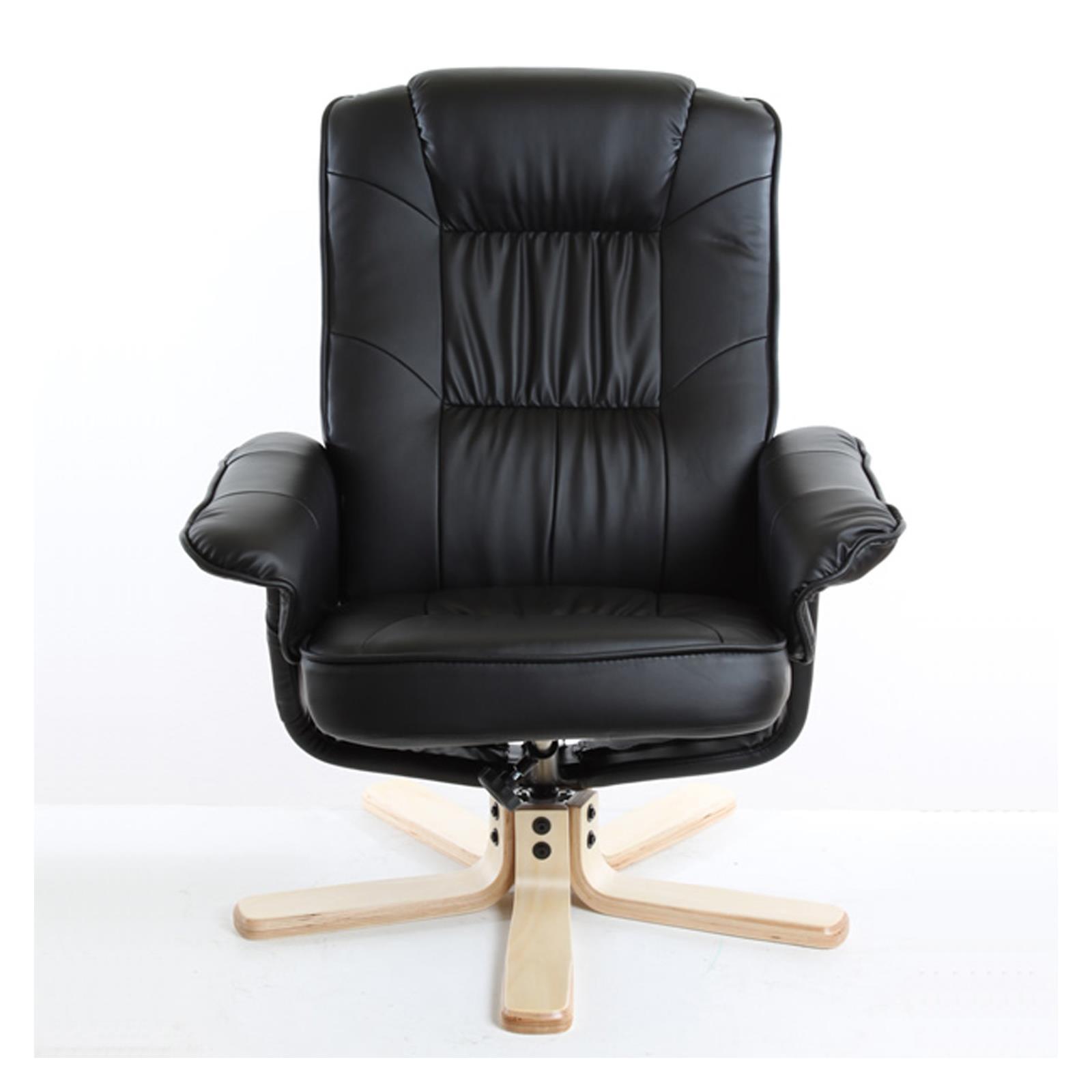 Fauteuil de relaxation massant et chauffant comfort noir - Fauteuil relax massant chauffant ...