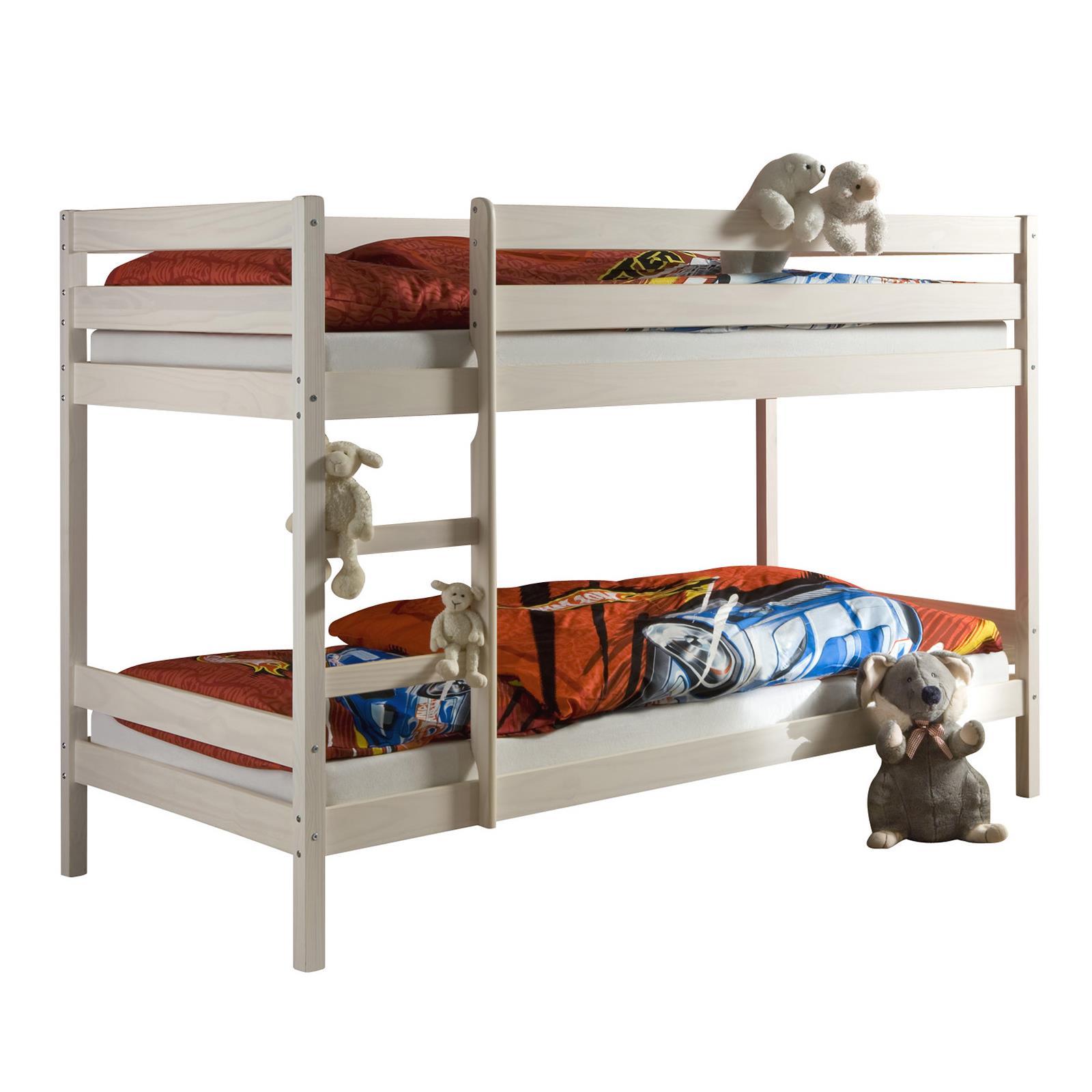 lit superpos 233 en pin felix 2 90 x 190 cm lasur 233 blanc mobil meubles