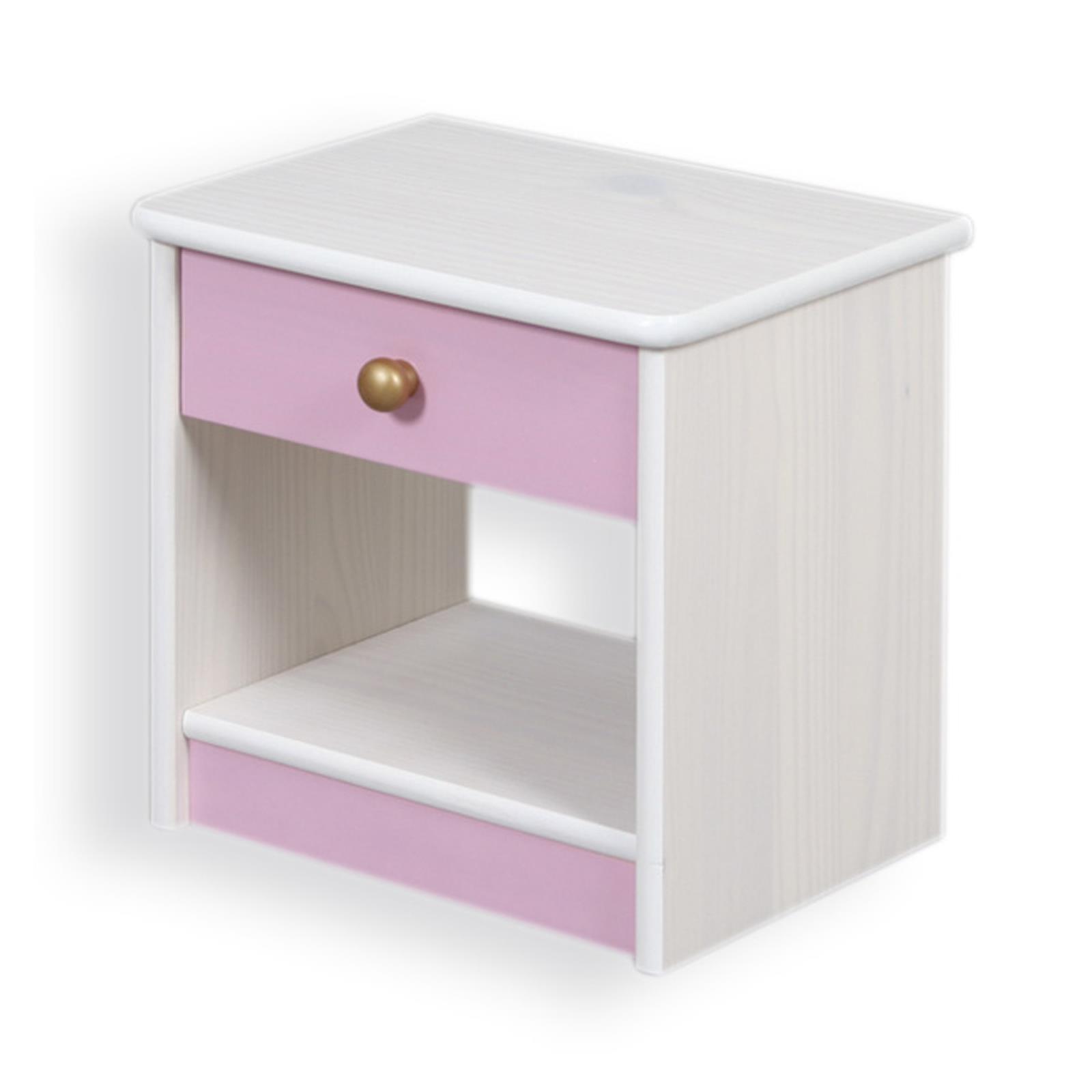 Table de chevet en pin isabella mobil meubles - Table de chevet en pin ...