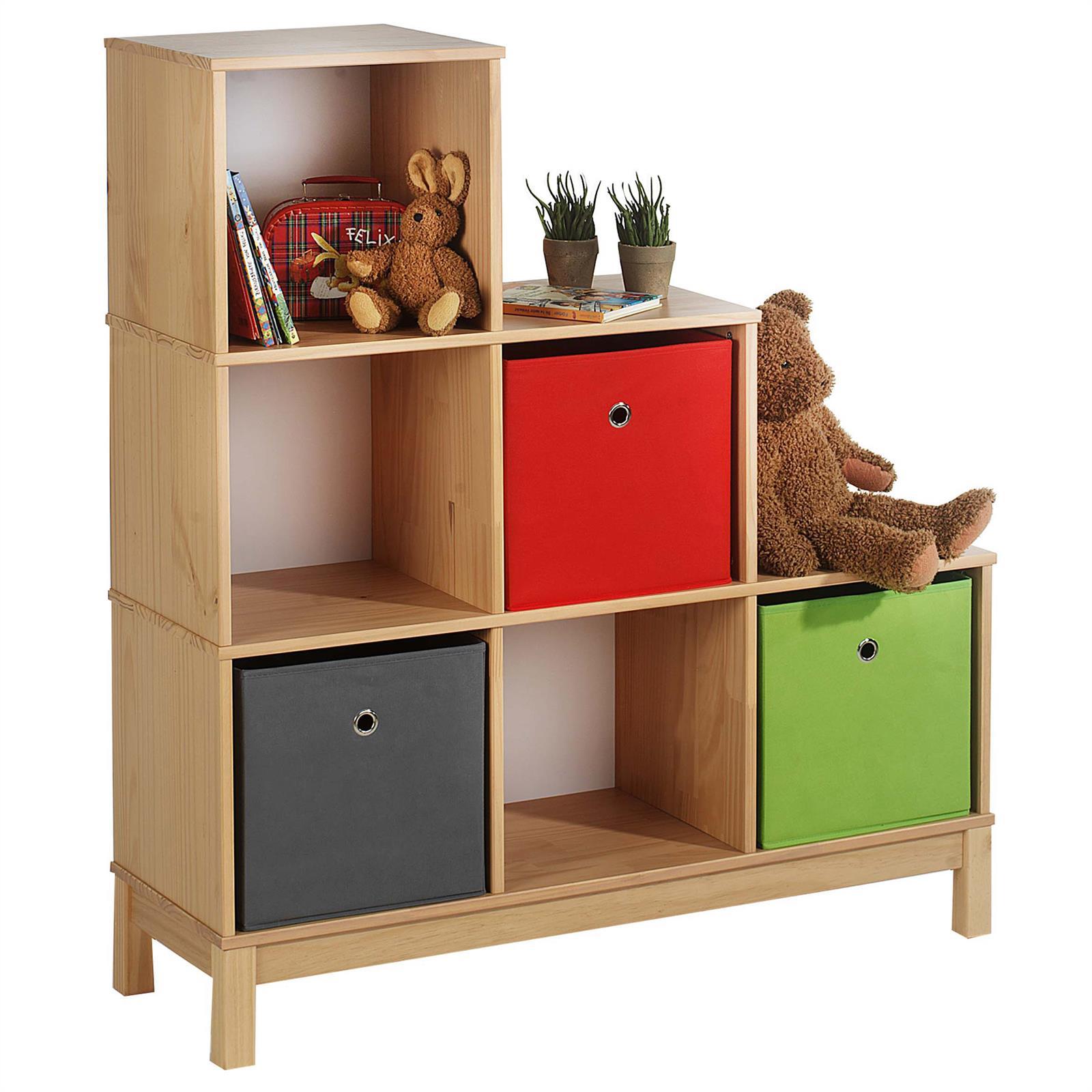 Etag re escalier en pin logo 6 casiers lasur couleur h tre mobil meubles - Meuble casier en escalier ...