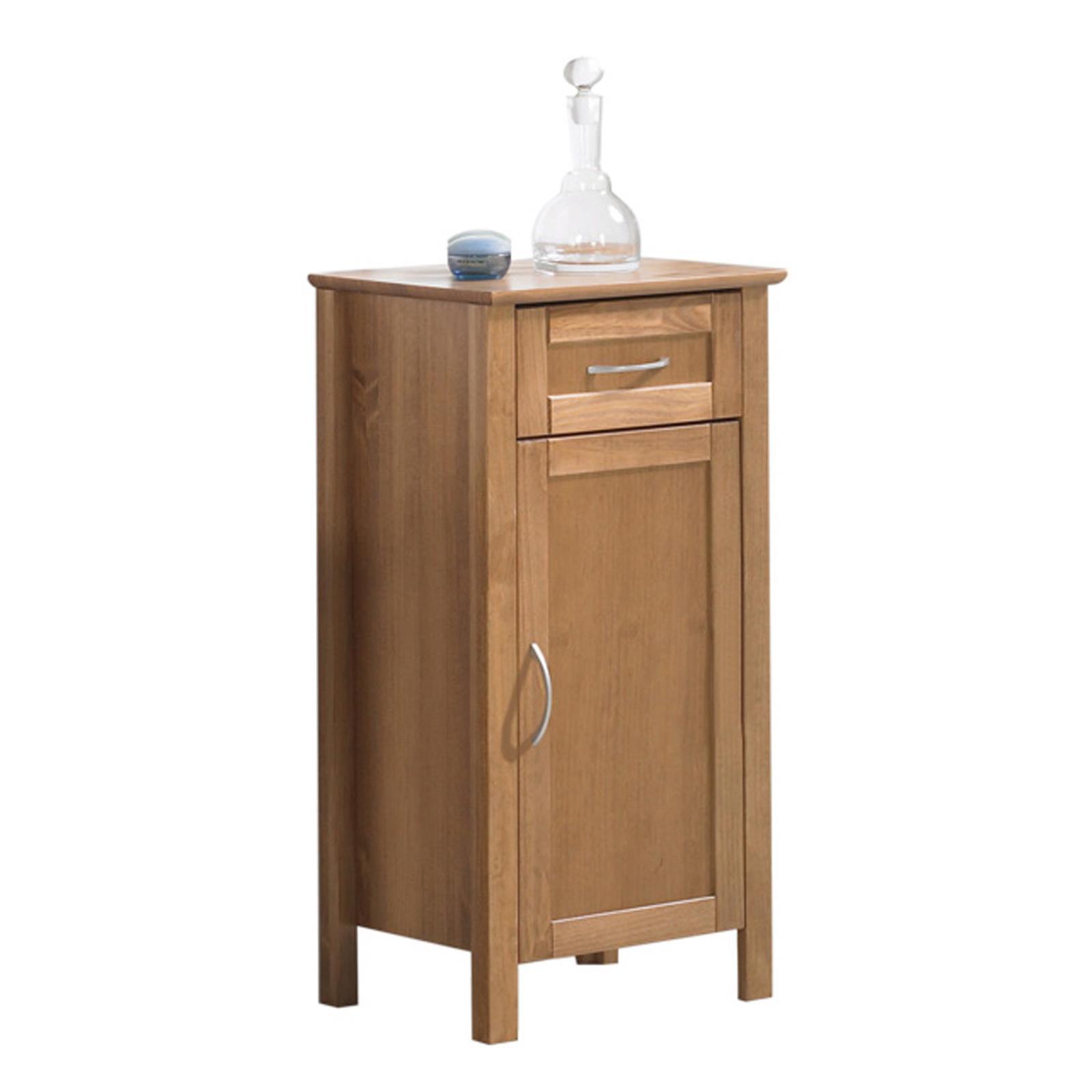 Meuble de salle de bain en pin california coloris cognac - Meuble salle de bain en pin ...