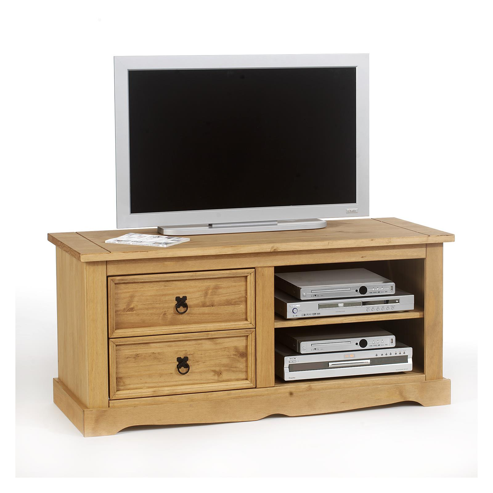 meuble tv en pin tequila style mexicain finition cir e mobil meubles. Black Bedroom Furniture Sets. Home Design Ideas