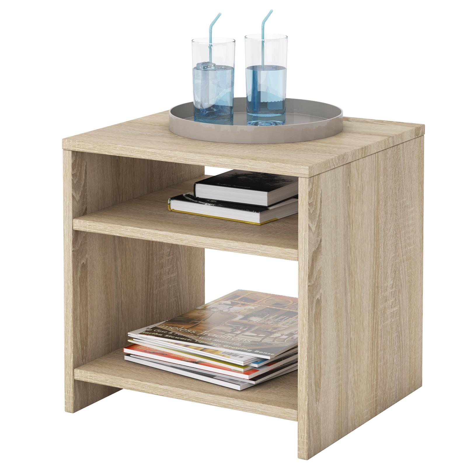 table d 39 appoint livorno m lamin ch ne sonoma mobil meubles. Black Bedroom Furniture Sets. Home Design Ideas