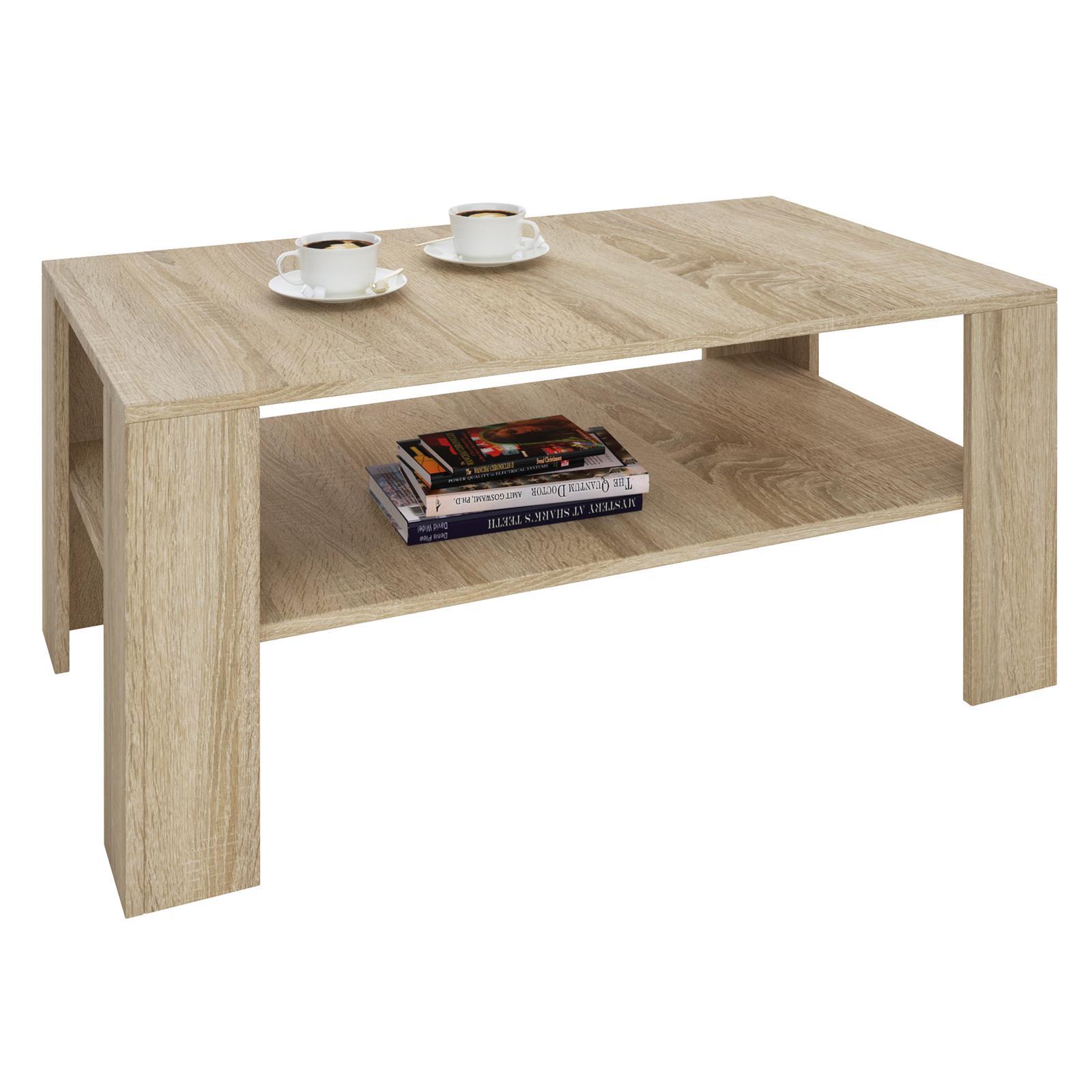 table basse lorient en m lamin d cor ch ne sonoma. Black Bedroom Furniture Sets. Home Design Ideas