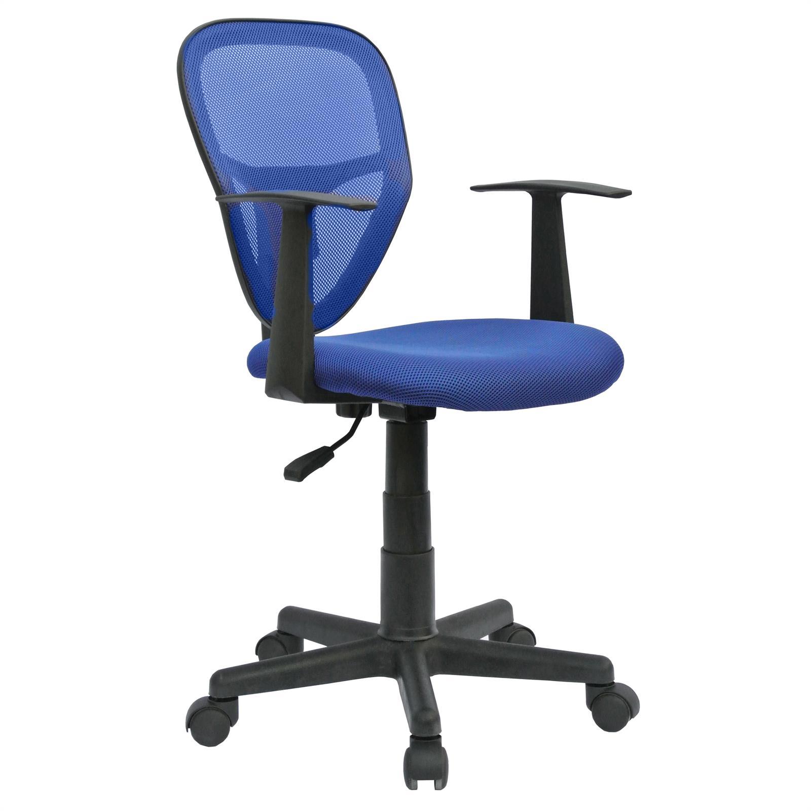 Chaise de bureau pour enfant studio bleu mobil meubles - Chaise bureau enfant but ...