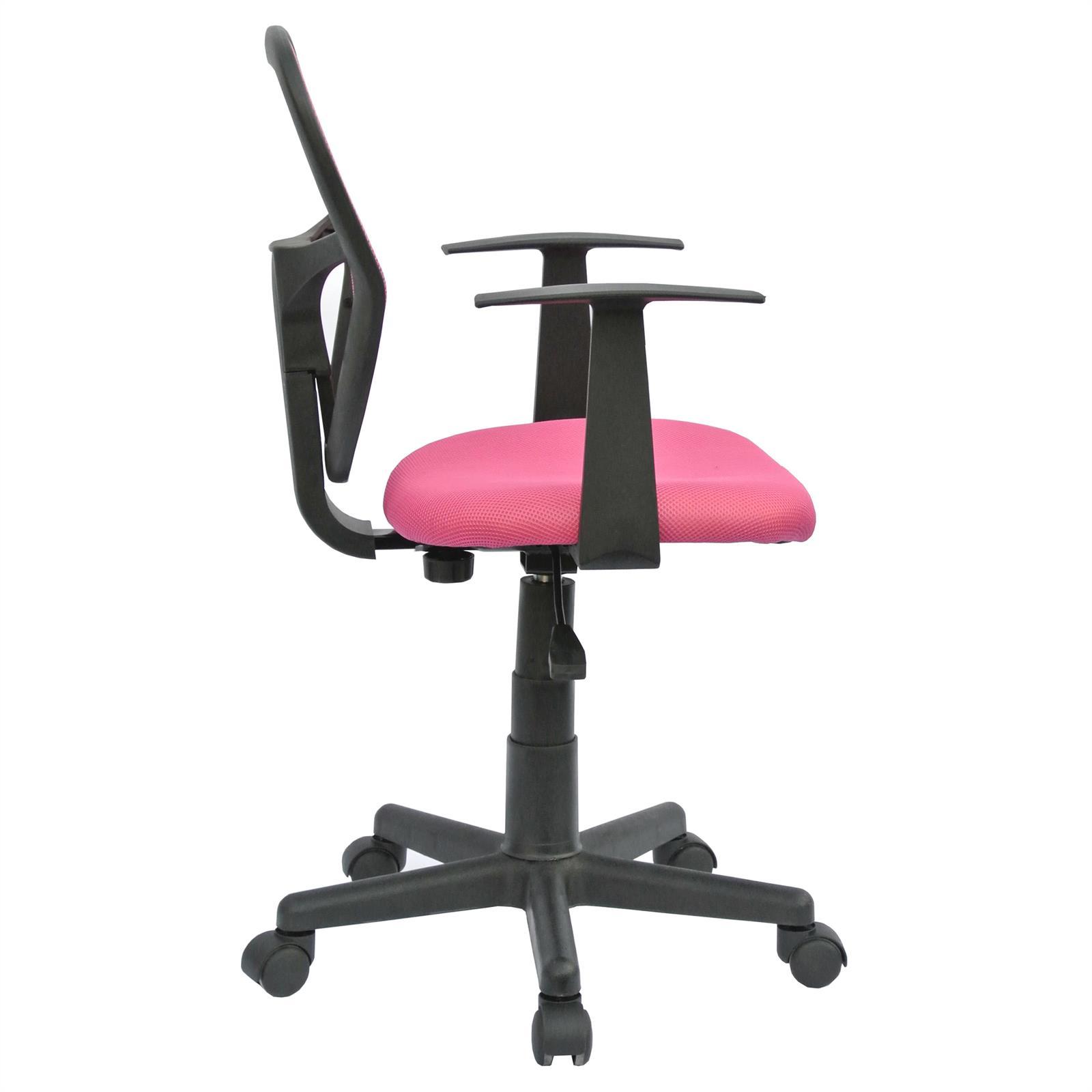 Chaise de bureau pour enfant STUDIO, rose -  Mobil-Meubles