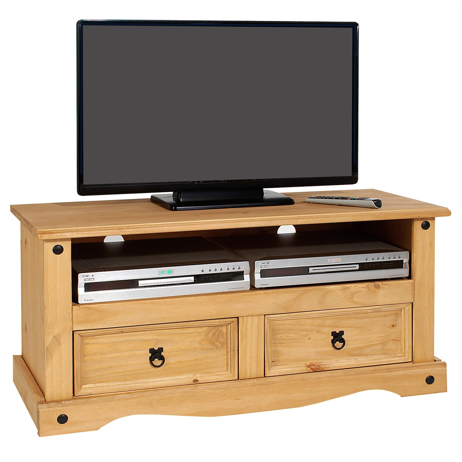 meuble tv en pin salsa style mexicain 2 tiroirs mobil meubles. Black Bedroom Furniture Sets. Home Design Ideas