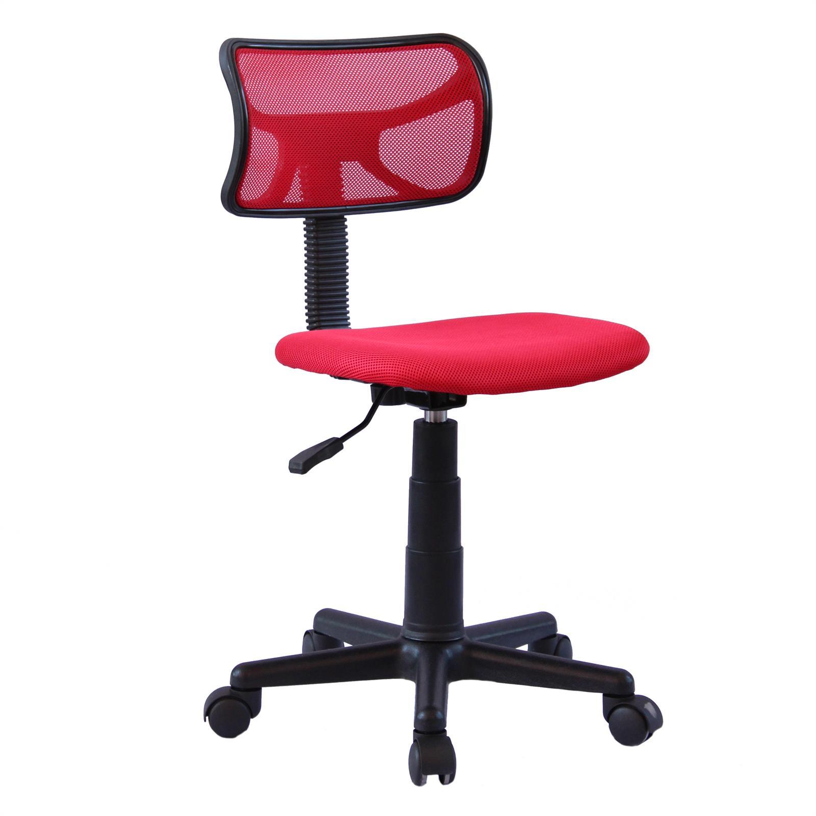 Chaise de bureau pour enfant MILAN, rouge -  Mobil-Meubles