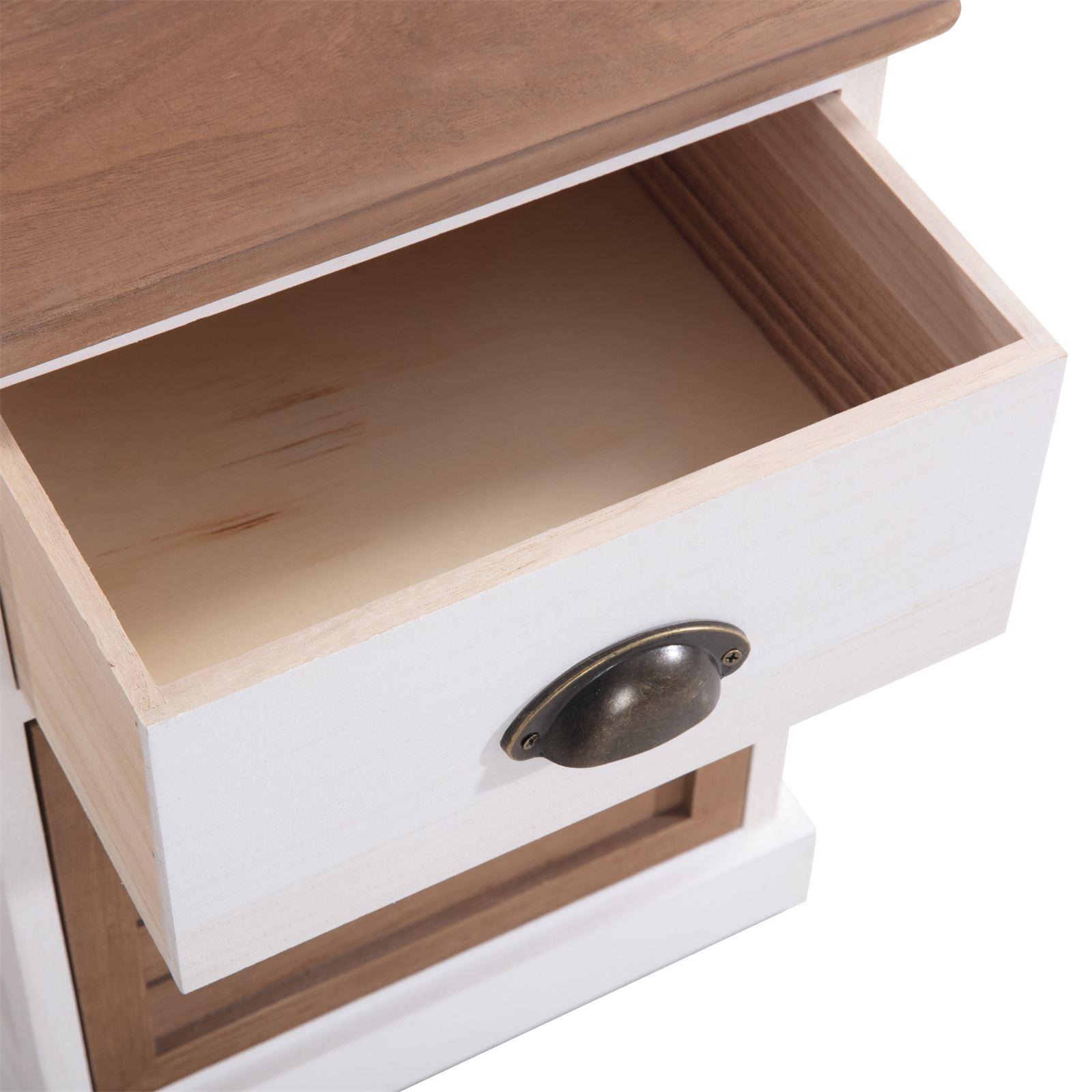 Meuble A Chaussure En Cagette table de chevet cornelia, 1 tiroir et 1 caisse de rangement