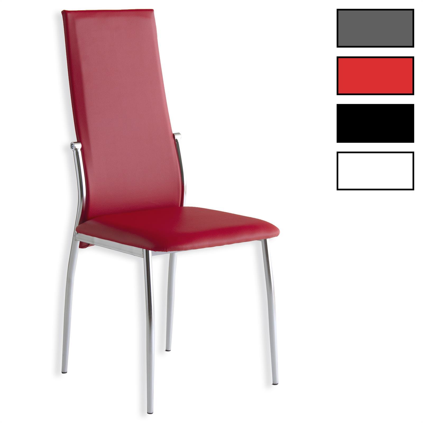 Lot de 4 chaises doris mobil meubles for Salle a manger 4 chaises