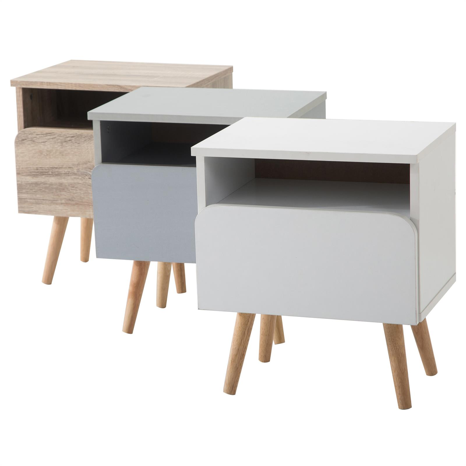 table de chevet giorgia 3 coloris disponibles mobil. Black Bedroom Furniture Sets. Home Design Ideas