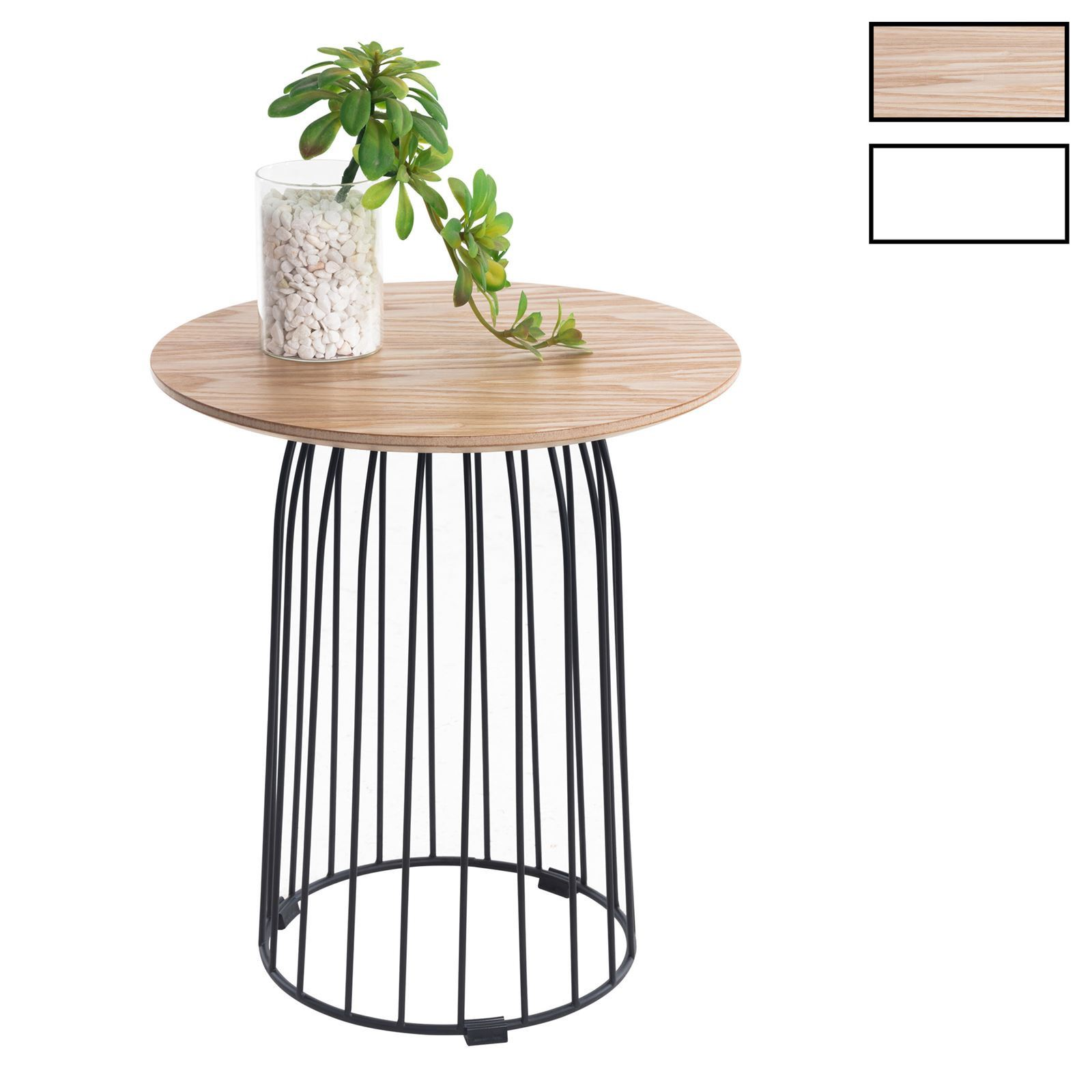 Malle Comme Table Basse table basse ronde salamanca