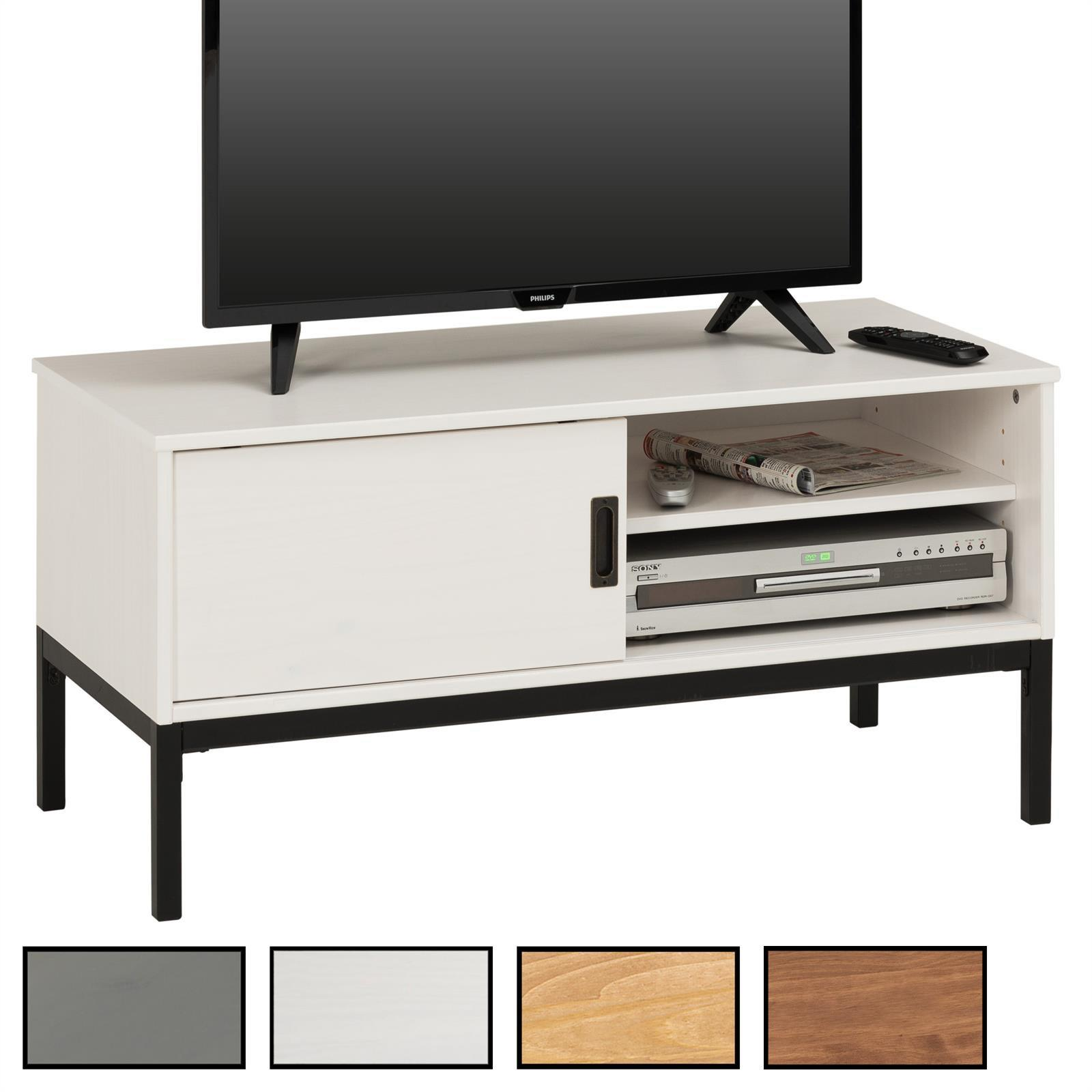 meuble tv selma 1 porte coulissante mobil meubles. Black Bedroom Furniture Sets. Home Design Ideas