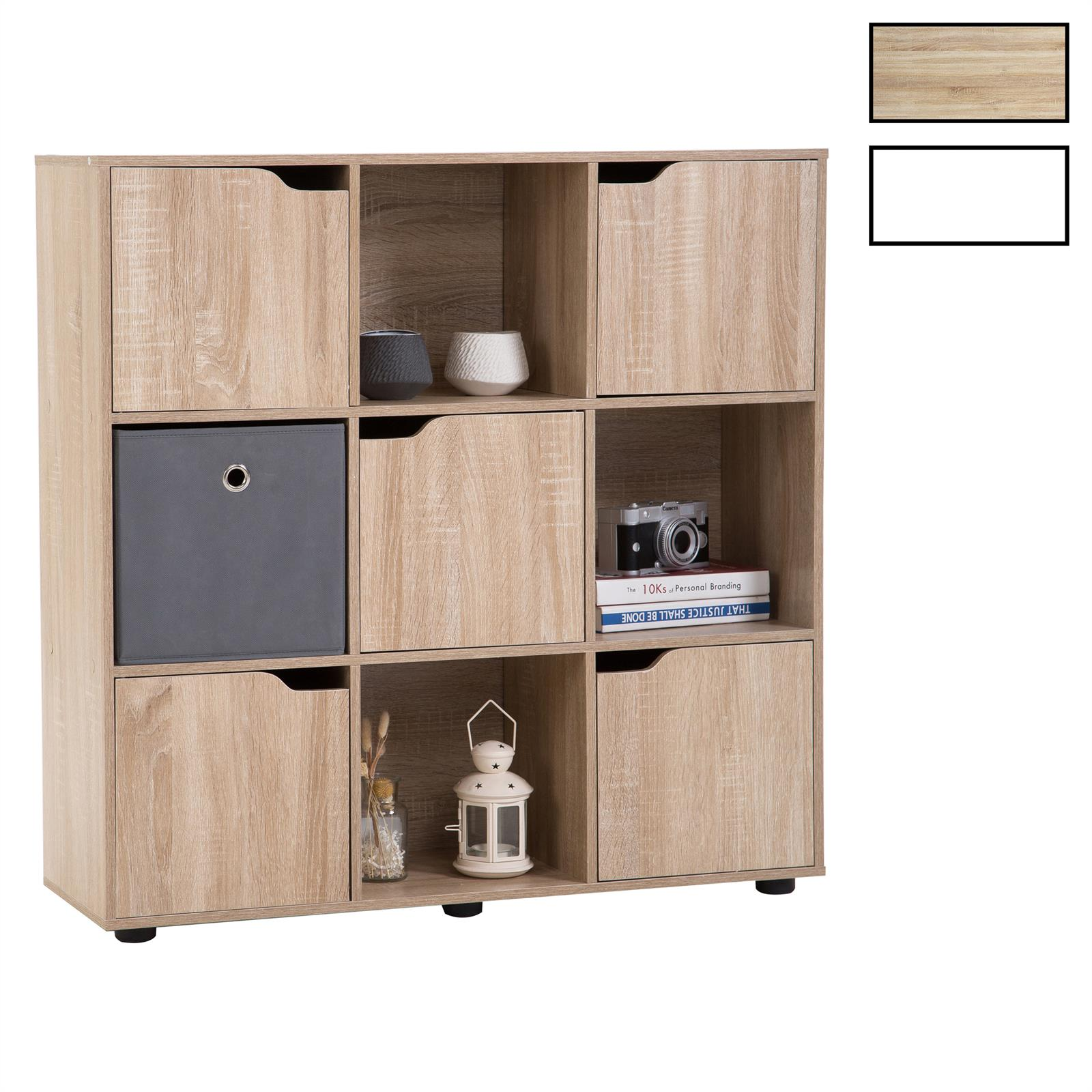biblioth que vermont rangement 9 casiers mobil meubles. Black Bedroom Furniture Sets. Home Design Ideas