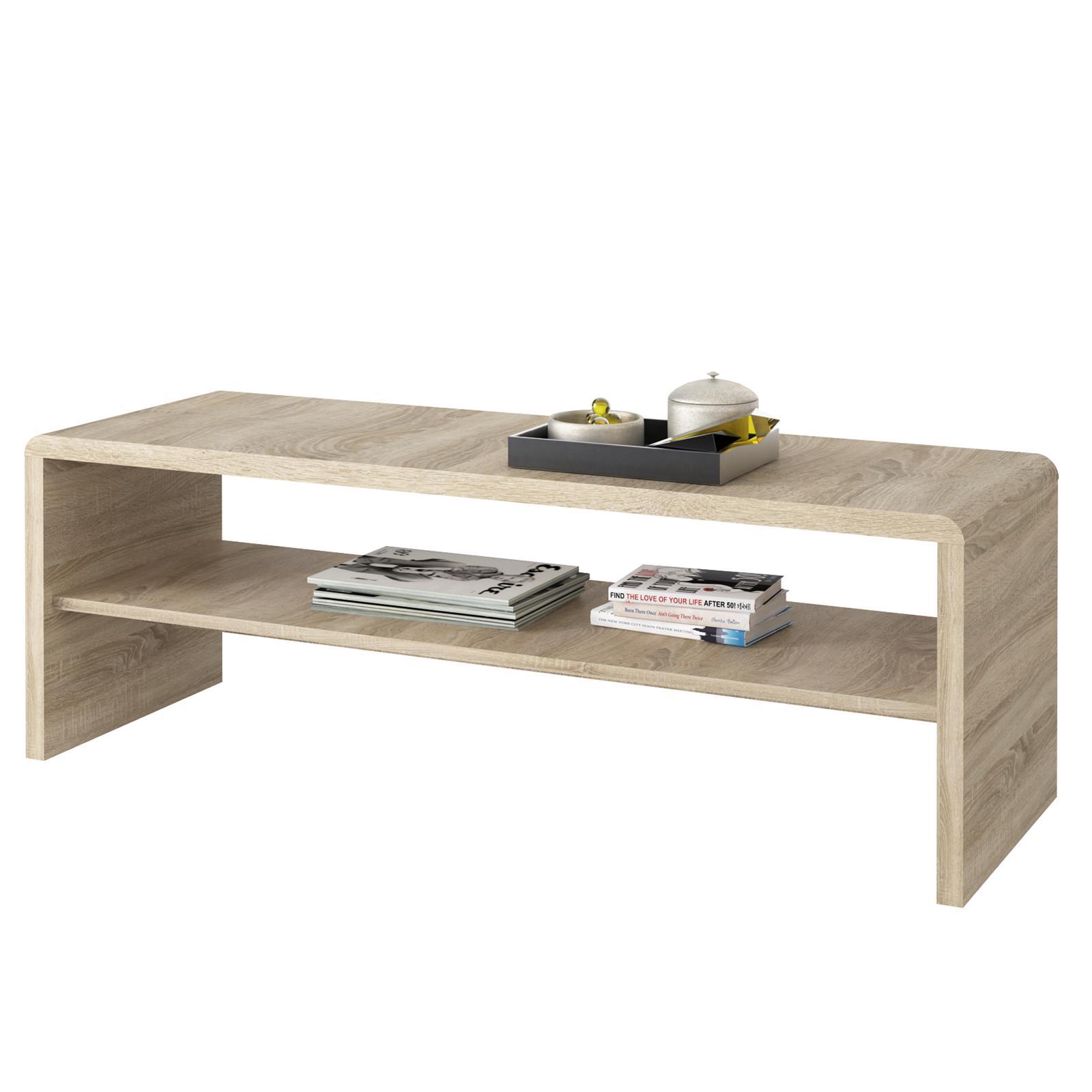 meuble tv table basse noelle d cor ch ne sonoma mobil meubles. Black Bedroom Furniture Sets. Home Design Ideas
