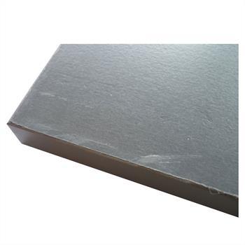 SECOND CHOIX - Console LEVANTE, décor gris mat et blanc mat