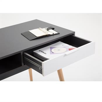 Console LEVANTE, gris mat et blanc mat