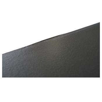 SECOND CHOIX - Console NEWPORT, décor gris mat et blanc mat