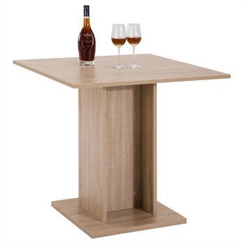 Table de salle à manger ANCONA, décor chêne sonoma