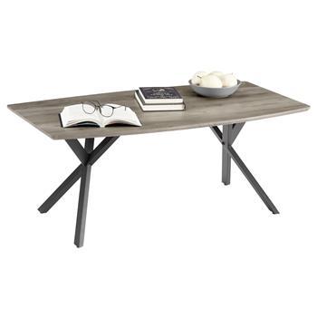 Table basse ASSUAN, en métal noir