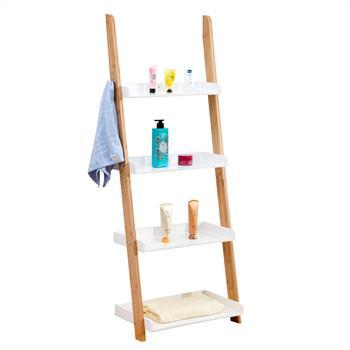 Etagère échelle de salle de bain BUFFALO, en bambou